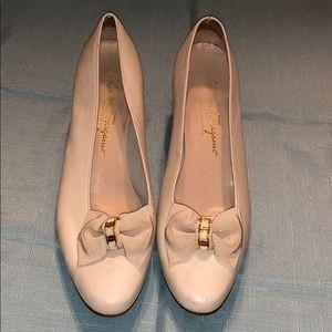 Salvatore Ferragamo Italy Heels Leather Shoes